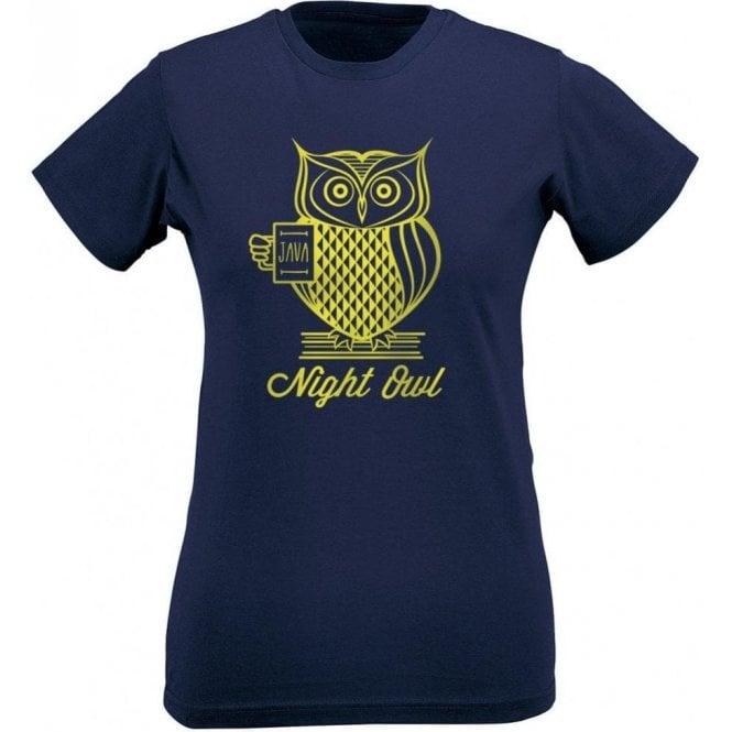 Night Owl Women's Slim Fit T-Shirt