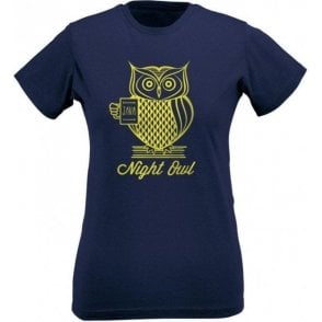 Night Owl Women's Slim Fit T-Shirt