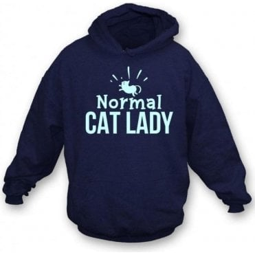 Normal Cat Lady Kids Hooded Sweatshirt