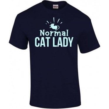 Normal Cat Lady Kids T-Shirt