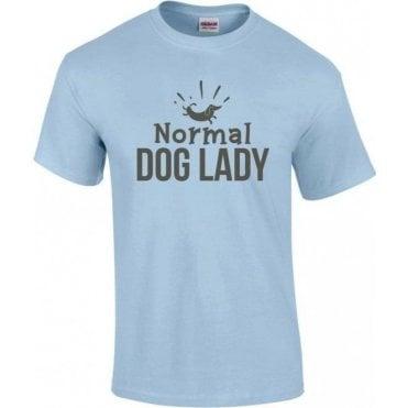 Normal Dog Lady Kids T-Shirt
