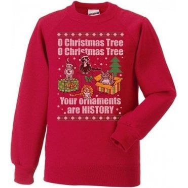 O Christmas Tree Kids Sweatshirt