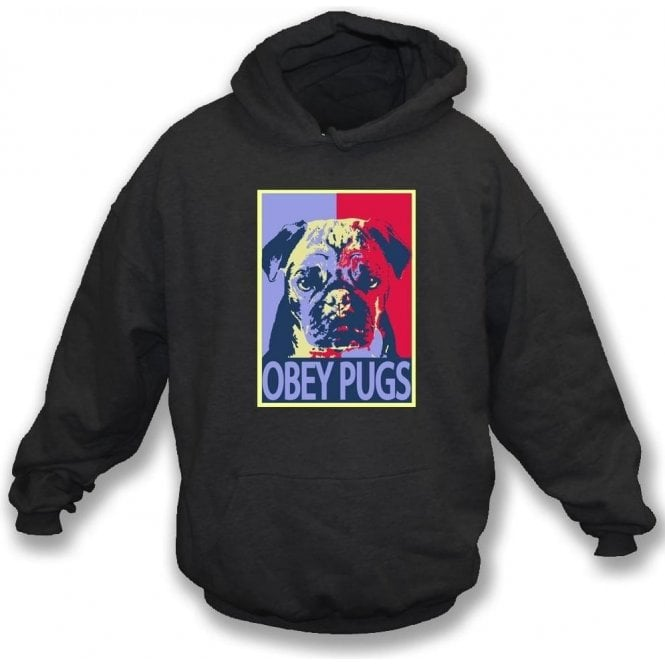 Obey Pugs Kids Hooded Sweatshirt