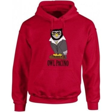 Owl Pacino Hooded Sweatshirt