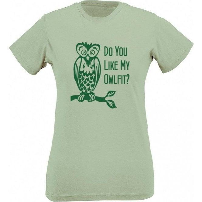 Owlfit Women's Slim Fit T-Shirt