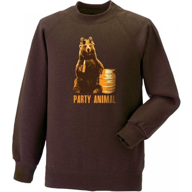 Party Animal Bear Sweatshirt