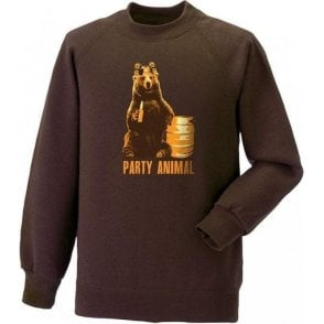 Party Animal Bear Sweatshirt