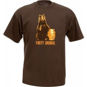 Party Animal Bear T-Shirt