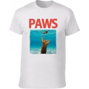 PAWS (JAWS Parody) Kids T-Shirt