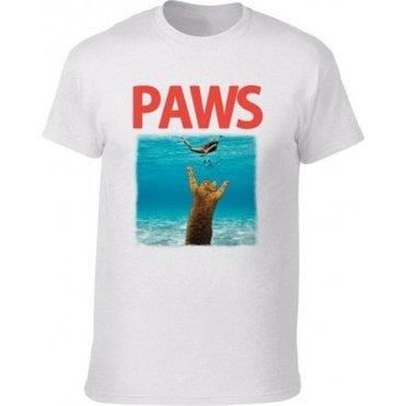 PAWS (JAWS Parody) T-Shirt