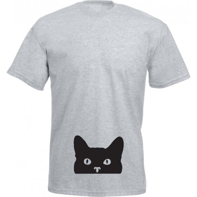 Peeping Cat T-Shirt