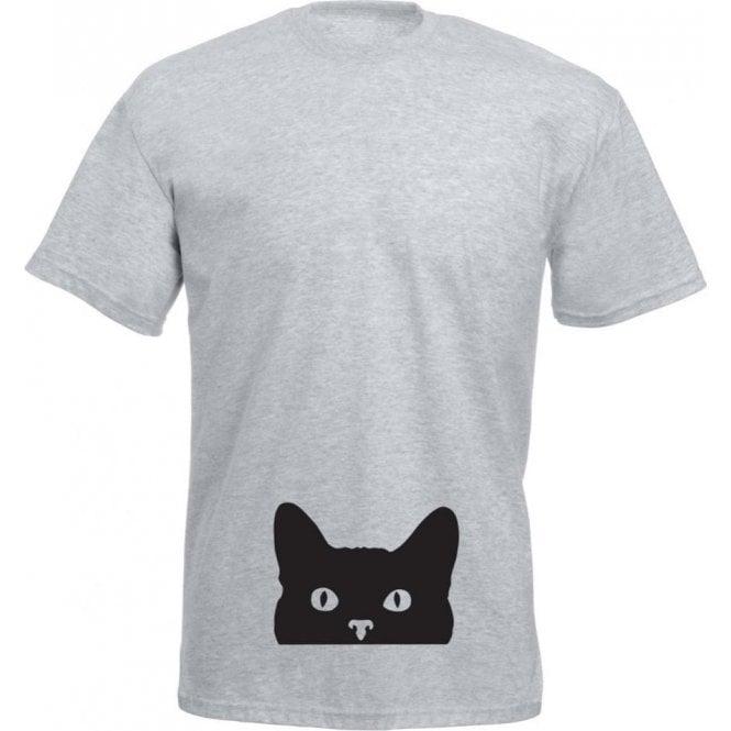 Peeping Cat T-Shirt