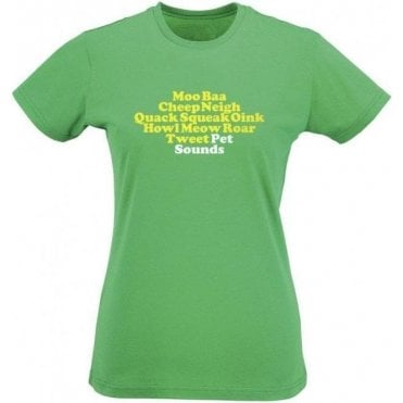 Pet Sounds Women's Slim Fit T-Shirt