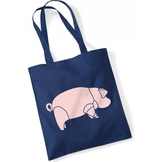Pig (As Worn By David Gilmour) Long Handled Tote Bag