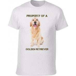 Property of a Golden Retriever Kids T-Shirt