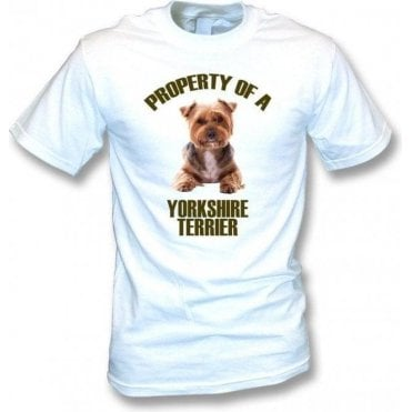 Property Of A Yorkshire Terrier Kids T-Shirt