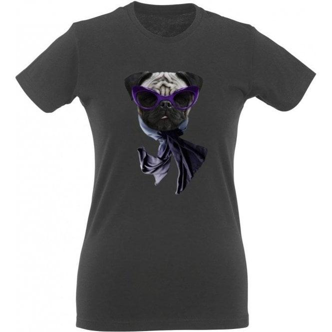 Pug Face Women's Slim Fit T-Shirt