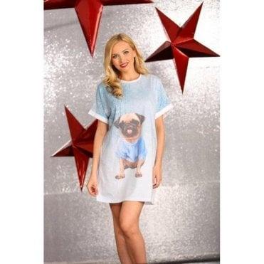 Pug Night Dress
