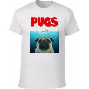 PUGS (JAWS Parody) T-Shirt