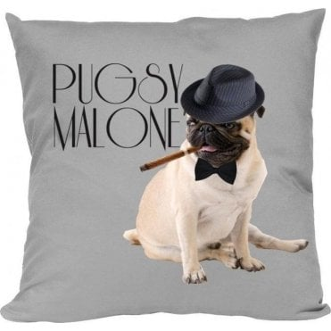 Pugsy Malone Cushion