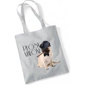 Pugsy Malone Long Handled Tote Bag