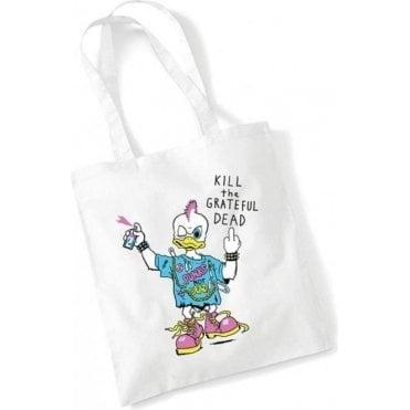 Punk Rock Duck (As Worn By Kurt Cobain, Nirvana) Long Handled Tote Bag