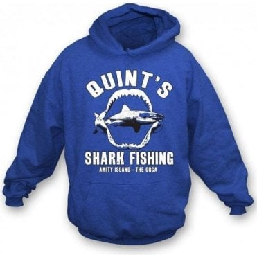 Quint's Shark Fishing Kids Hooded Sweatshirt