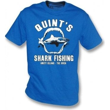 Quint's Shark Fishing Kids T-Shirt