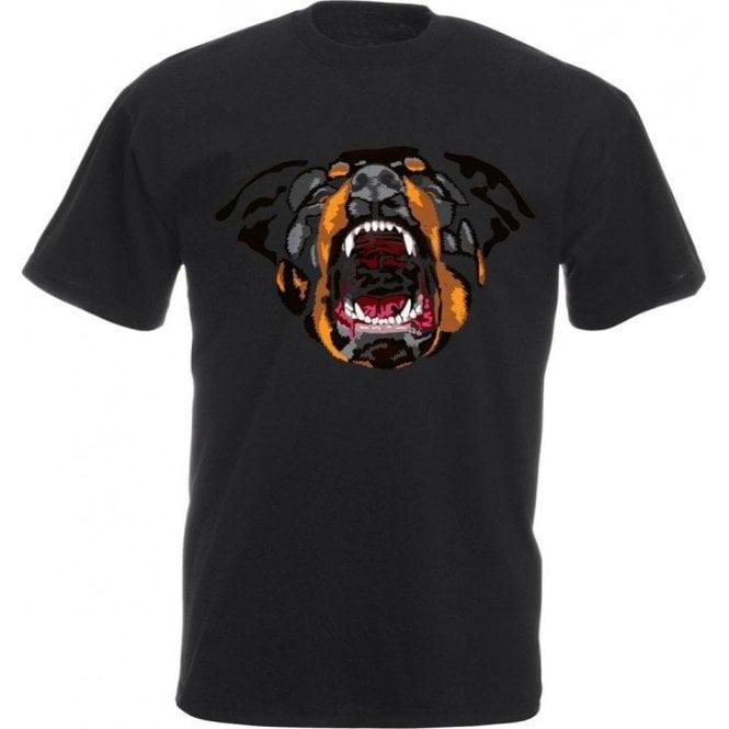 Rottweiler Face Kids T-Shirt