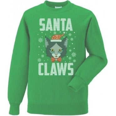 Santa Claws (Cat) Sweatshirt