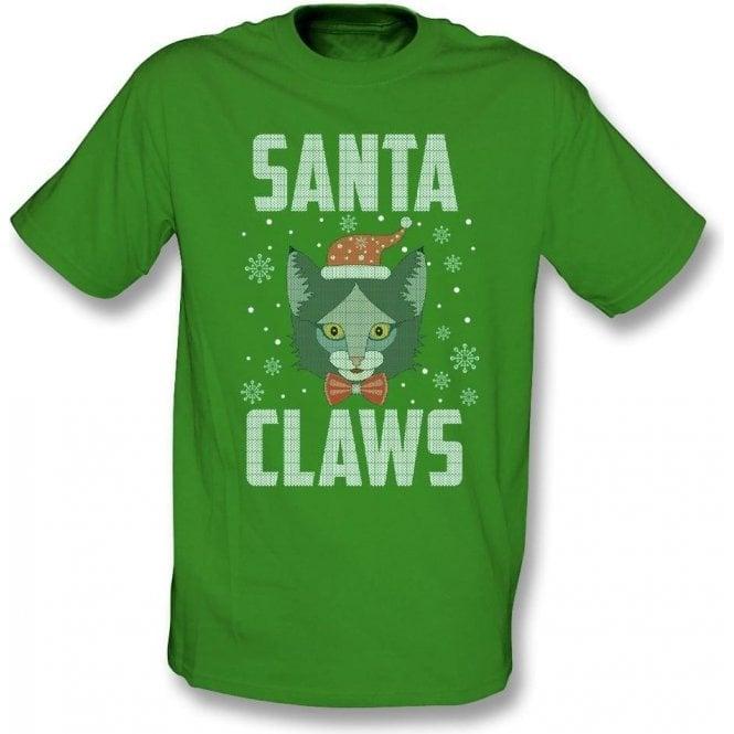 Santa Claws (Cat) T-Shirt