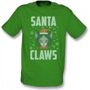 Santa Claws Kids T-Shirt