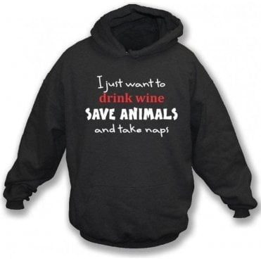 Save Animals Hooded Sweatshirt