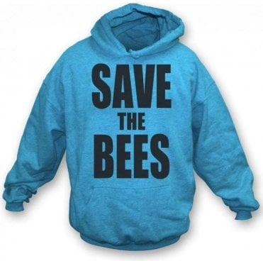 Save The Bees Hooded Sweatshirt