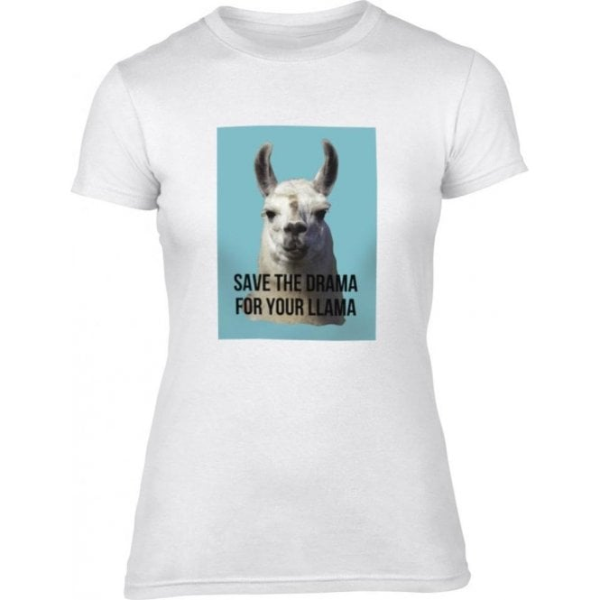 Save The Drama Women's Slim Fit T-Shirt