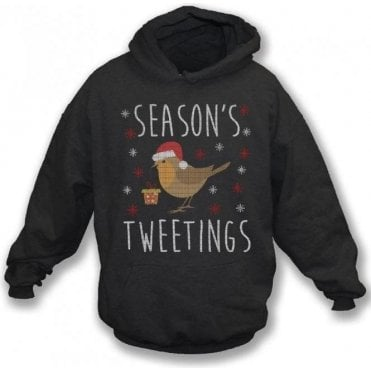 Season's Tweetings Hooded Sweatshirt