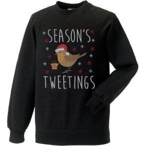 Season's Tweetings Sweatshirt
