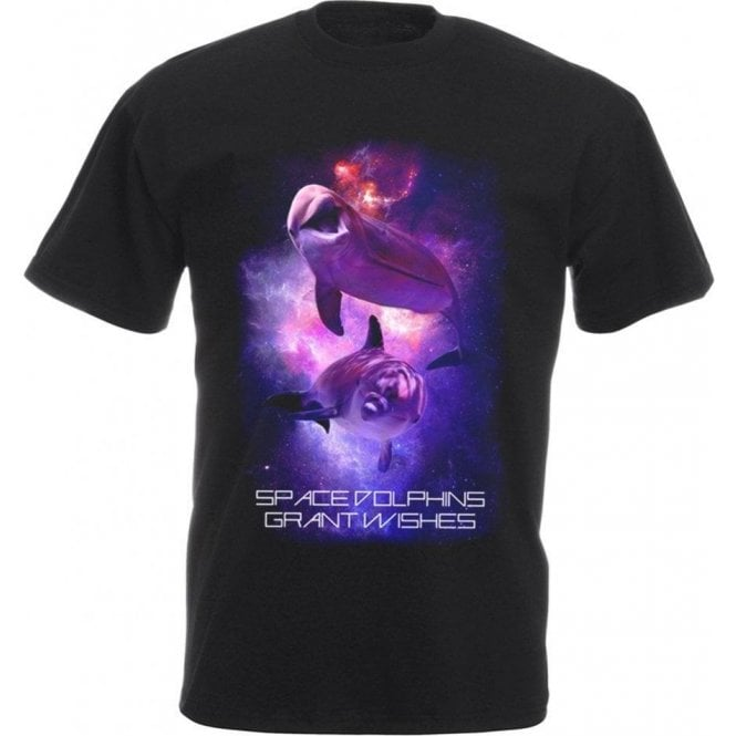 Space Dolphins Kids T-Shirt