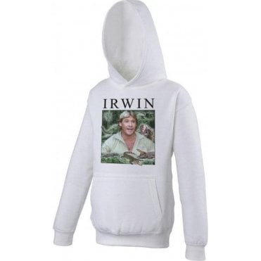 Steve Irwin Collage Kids Hooded Sweatshirt