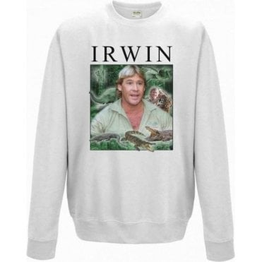 Steve Irwin Collage Kids Sweatshirt