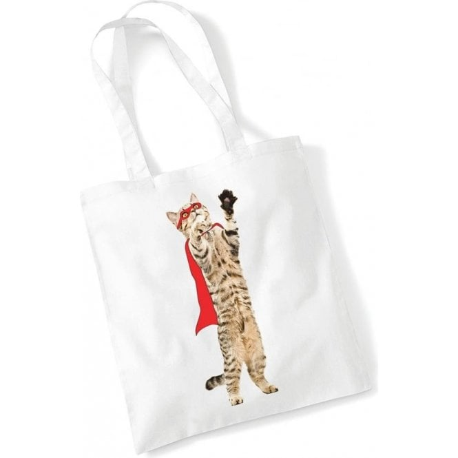 Super Cat Long Handled Tote Bag