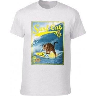 Surf Cat Kids T-Shirt