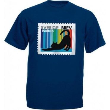 Swedish Cat Stamp T-Shirt