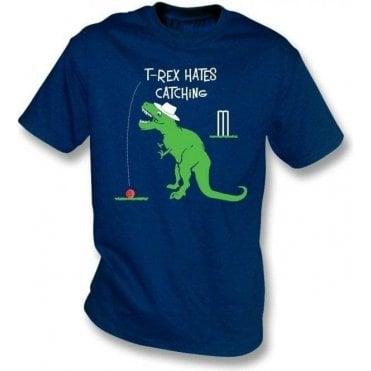 T-Rex Hates Catching Kids T-Shirt