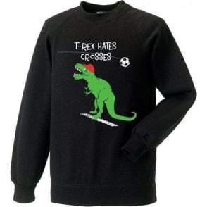 T-Rex Hates Crosses Sweatshirt