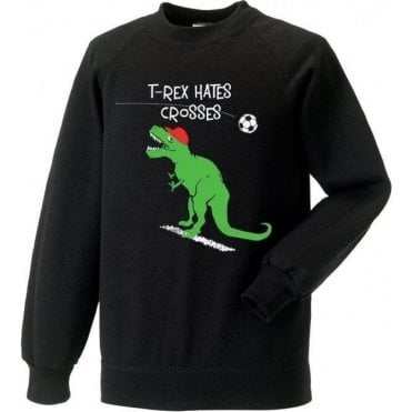 T-Rex Hates Crosses Sweatshirt