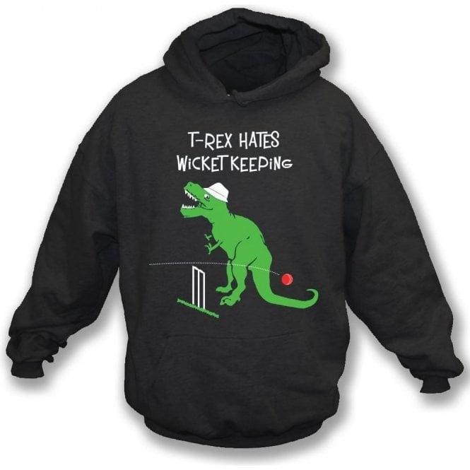 T-Rex Hates Wicketkeeping Hooded Sweatshirt