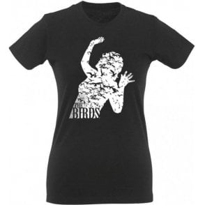 The Birds Womens Slim Fit T-Shirt