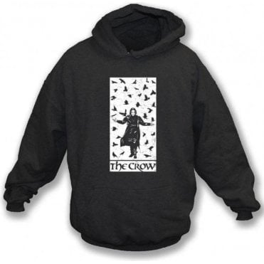 The Crow (Alternative Poster) Hooded Sweatshirt