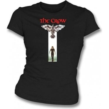 The Crow (Original Poster) Womens Slim Fit T-Shirt